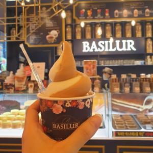 紅茶専門店BASILURのアイスクリームを食べてみました!