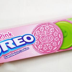 OREO新作!ピンクオレオ!