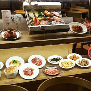 ルミネエスト新宿「ガッツ ブシュリ」焼肉食べ放題ランチ