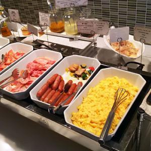 【朝ごはん】秋葉原ワシントンホテル「ボンサルーテカフェ」のMORNING BUFFET