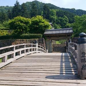 【162】常に但馬国の中心であった出石城・有子山城。