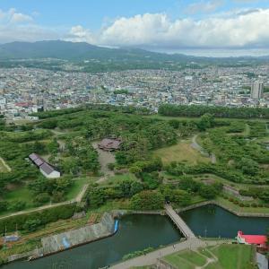 【2】日本初の欧州星形稜堡式城郭の五稜郭。