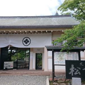 【3】日本で最後に築城された旧式城郭の松前城。
