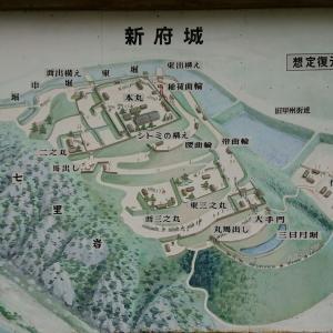 【127】新本拠地も武田氏最後の城となった新府城。