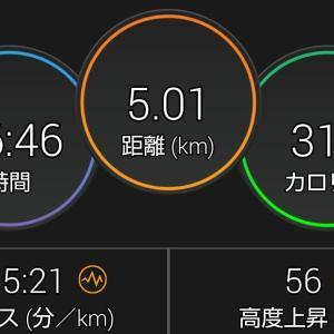 朝活(6/18)