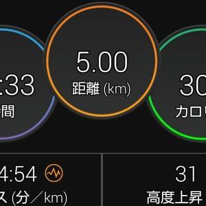 朝活(8/4&8/5)