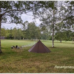 大好きな草地の香りでカレーを喰らうソロキャンプ