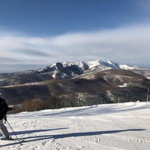 2020スキー4日目ホワイトワールド尾瀬岩鞍