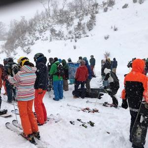 2020スキー13日目ホワイトワールド尾瀬岩鞍 春の重い新雪