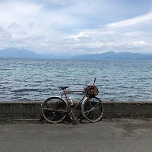 猪苗代湖一周サイクリング2