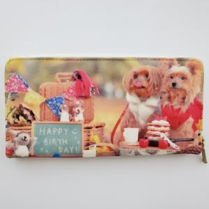 ペットの写真 で作る お財布 と マスクケース