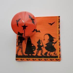 ネイルとお揃いハロウィンのキャンドル