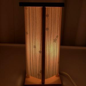 ペーパーナプキンで作る和モダンなランプ