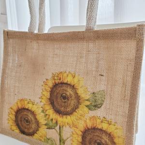 夏全快のひまわり柄バッグ!! これも自分で作れちゃう。