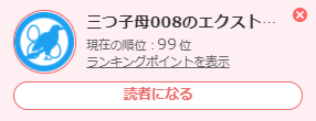 祝 ブログ村 100位入賞