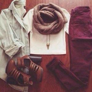 秋冬はパンツで過ごす!!