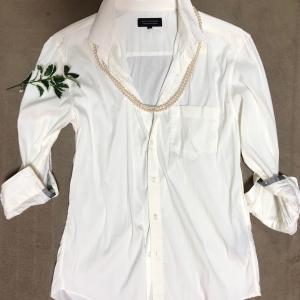 白シャツってハードル高いと思うのは私だけ?
