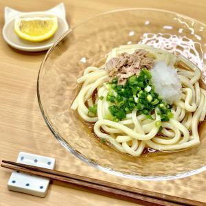 【レシピ】さっぱり×一皿満足♪夏のツナおろしうどん♪