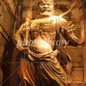 展示された仏像