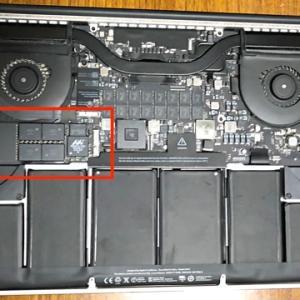 MacBook Pro・SSDの換装編♪