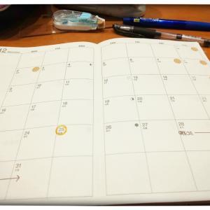 【手帳】私流マンスリー形式手帳の使い方