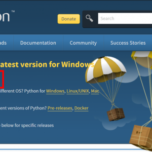Pythonインストール手順