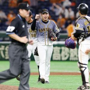 やっと勝った!阪神・やっぱり西勇輝!!2試合連続完封勝利、東京ドームの連敗を止めた!!