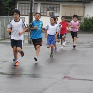 雨の日の練習!