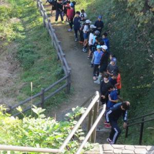 上り階段ダッシュ+サーキットトレーニング!