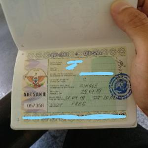 【アルメニア】ナゴルノカラバフのビザ申請方法inエレバン~2019年7月29日情報