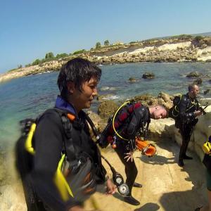 【キプロス】パフォスでこの旅初ダイビング!レックダイブポイント『ゼノビア』に行けなかった話