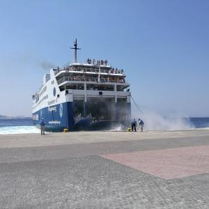 【ギリシャ】ミコノス島からサントリーニ島へフェリーで行く方法~2019年8月情報~