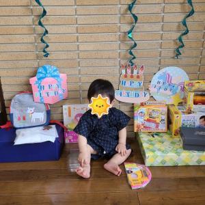 ☆1歳の誕生日プレゼント☆