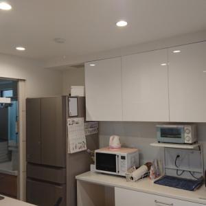 住んでみたら(感想)  キッチン背面の収納は作り付け家具