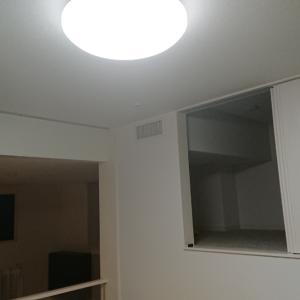 住んでみたら(感想)   閉めきれる和室と照明