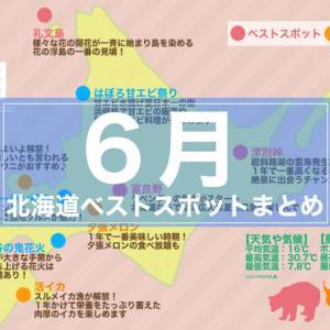 【6月北海道ツーリング】服装・天気・グルメ・ベストツーリングスポットまとめ