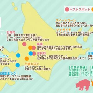 【7月北海道ツーリング】服装・天気・グルメ・ベストツーリングスポットまとめ