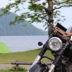 【洞爺曙公園キャンプ場】バイクで女ソロキャンプしてきました!夜には花火も観れて景観◎