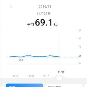 【ダイエット】これは停滞期!?1週間の歩数と体重【1日1万歩】
