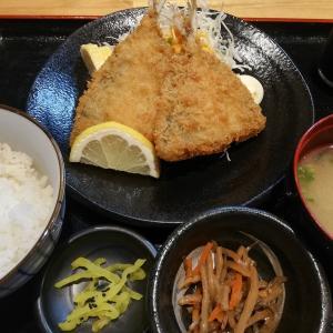 【大阪駅前第2ビル】お昼の大衆酒場には、お値打ちランチがありました【アジフライ定食¥680】