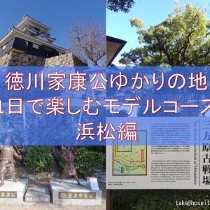 徳川家康公ゆかりの地めぐり:浜松編|家康公ゆかりの地を1日で観光するモデルコース