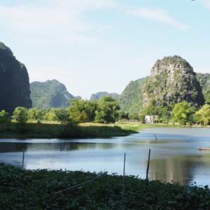 まるでリゾートホテル?!ベトナムチャンアンのQuoc Khanh Bamboo Homestayが大絶景のオススメ宿だった
