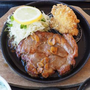 「道の駅 厚岸グルメパーク」の牡蠣フライと豚ステーキの両方を食べられる「厚岸トンカキ」がめちゃくちゃ美味しかった