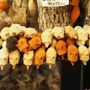 アイヌコタンの素敵な民芸品!ポンション人形館の「おねだりきつね」が可愛すぎた