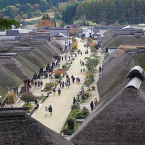 立ち並ぶ江戸時代の古民家街!福島県大内宿には茅葺き屋根のレトロな風景が広がっていた