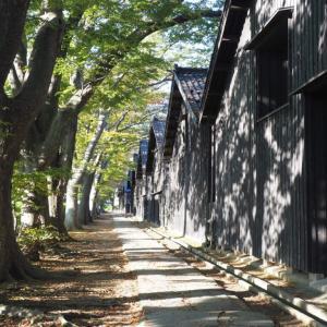 美しいケヤキ並木!山形県酒田市「山居倉庫」は日本の伝統的なお土産物が揃っていた