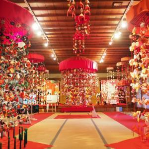 北前船って何?山形県酒田市のレトロ古民家「山王くらぶ」はつるし飾りの福傘が可愛くてフォトジェニックだった