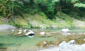 ハッピーな田舎暮らし ~川遊び~