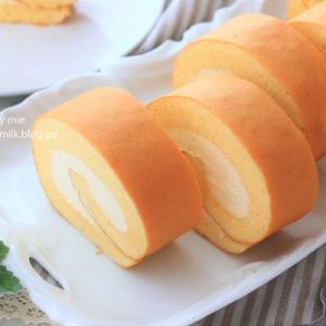 キャラメルロールケーキ【 #ロールケーキ巻き方 #ロールケーキ 】