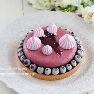 LikeSweetsBOX 7月のケーキ #タルトミルティーユ